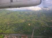 vue aérienne du Laos